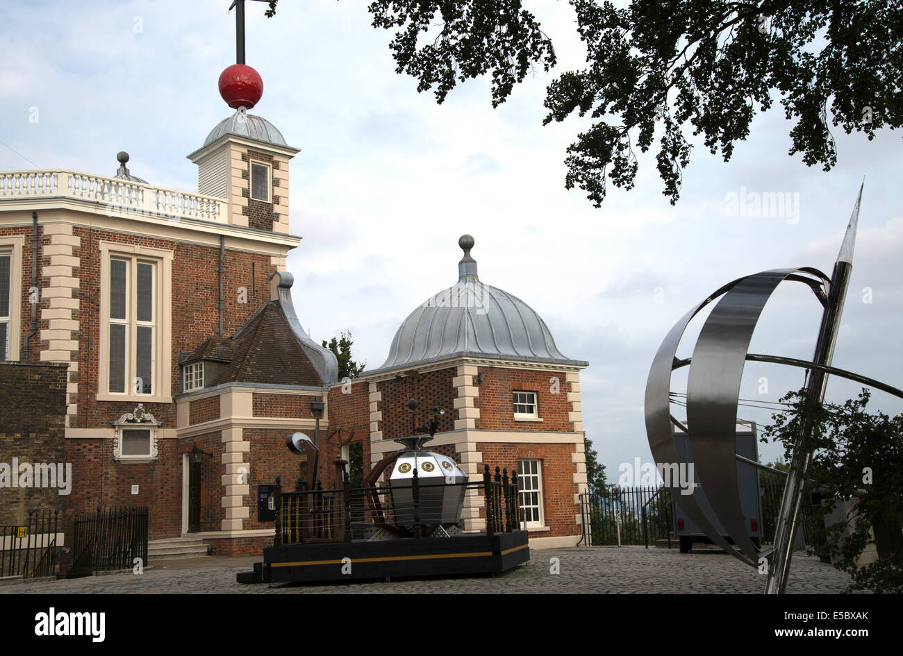 Royal Observatory in Greenwich Park, England - Stock Image