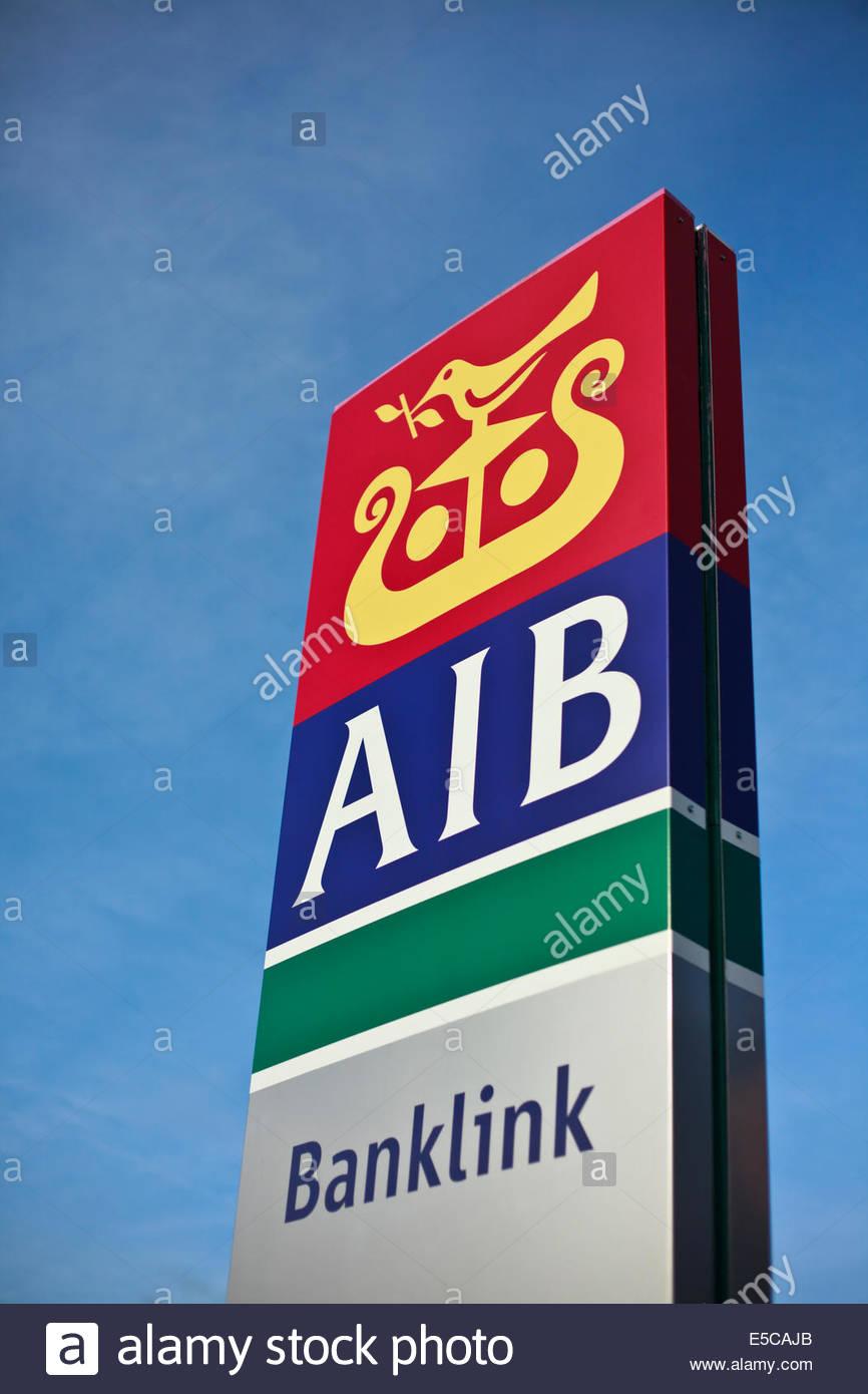 AIB Bank ireland - Stock Image