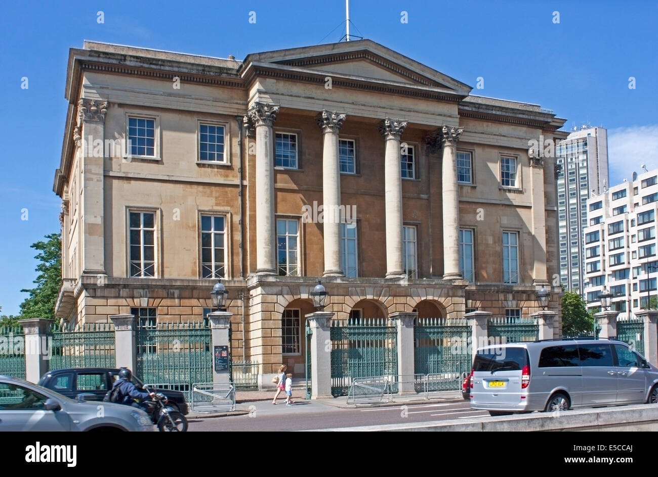 Apsley House, the London home of the Duke of Wellington, also known as Number One London, at Hyde Park Corner. - Stock Image