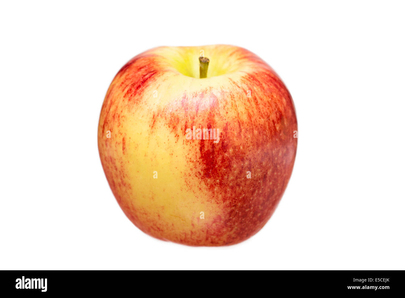 Apple, One Gala Apple, Red - Stock Image