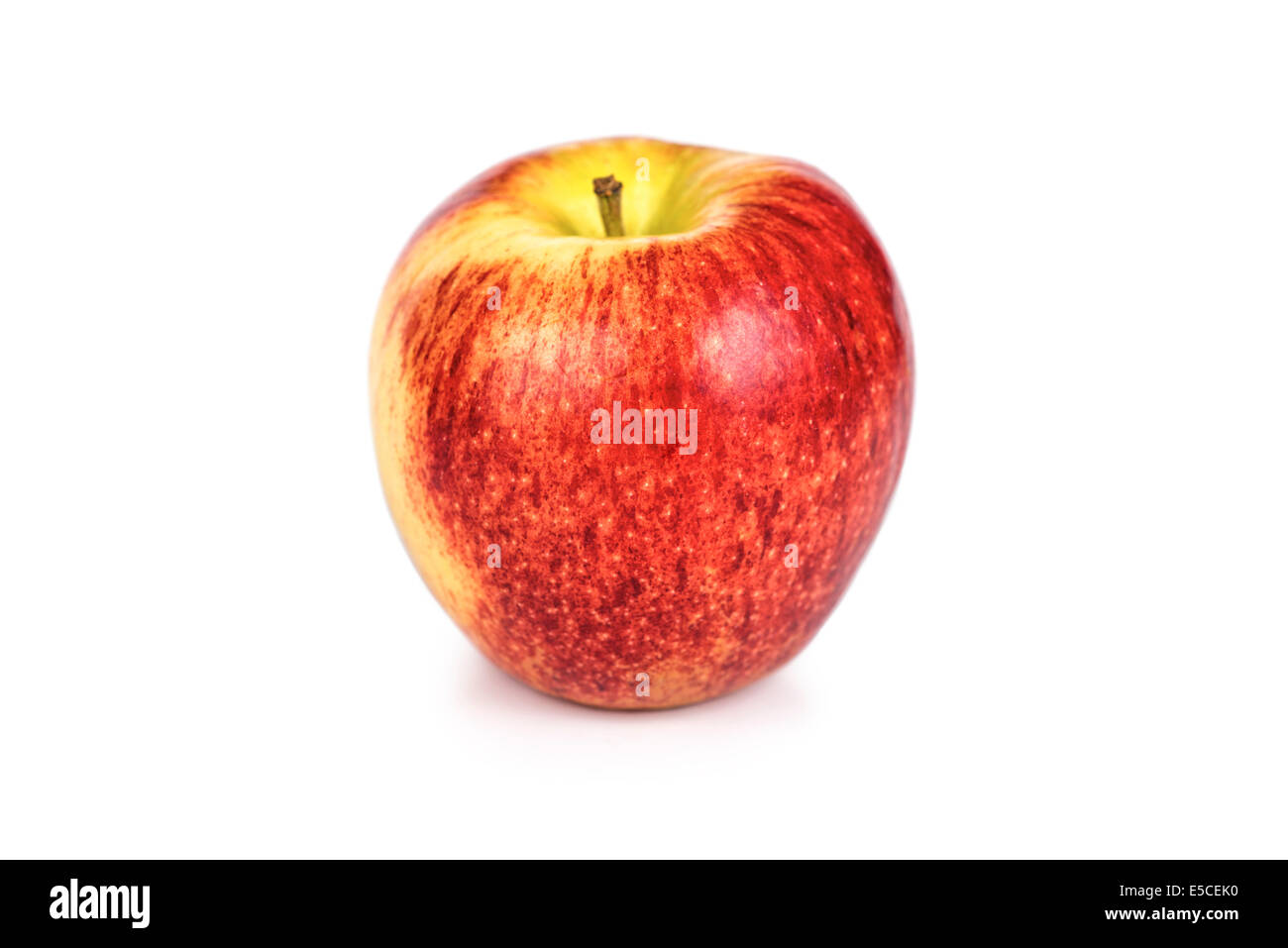 Red Apple, Single Gala Apple - Stock Image