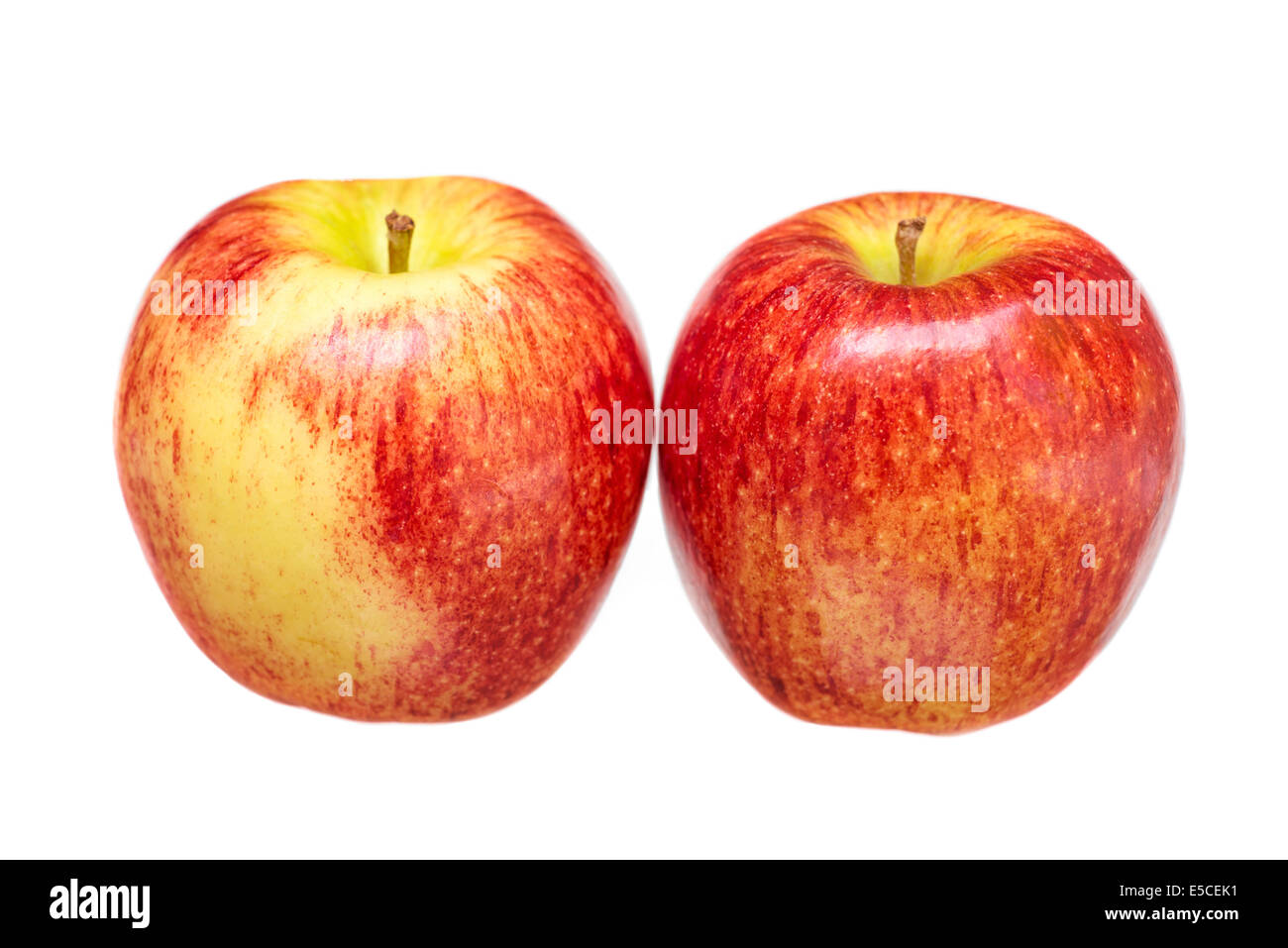 Apples, Red, Gala Apples - Stock Image