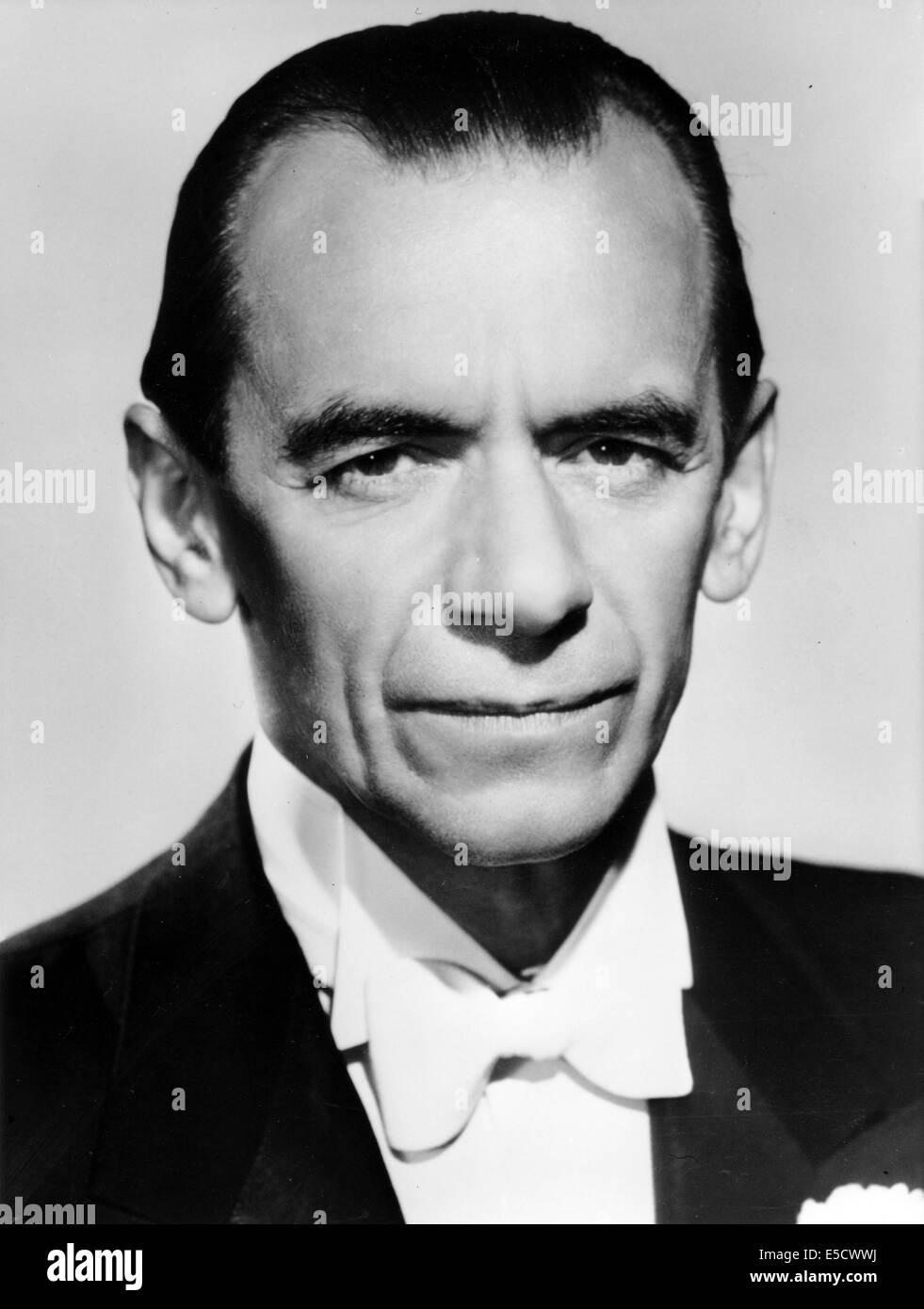 MALCOLM SARGENT (1895-1967) English conductor in 1963. Stock Photo