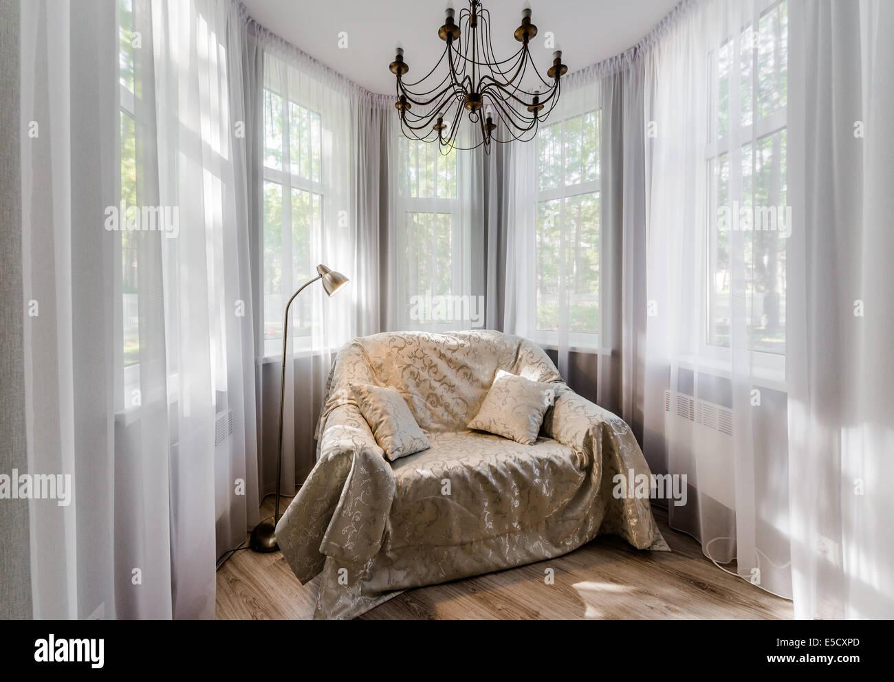 Elegant room interior - Stock Image