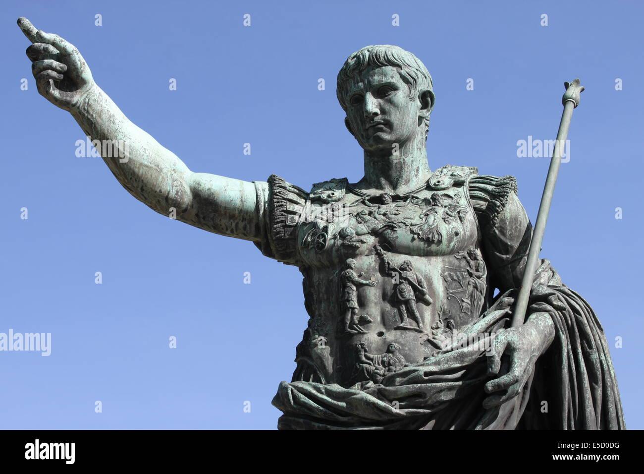 Roman Emperor Augustus Symbol Power Stock Photos Roman Emperor