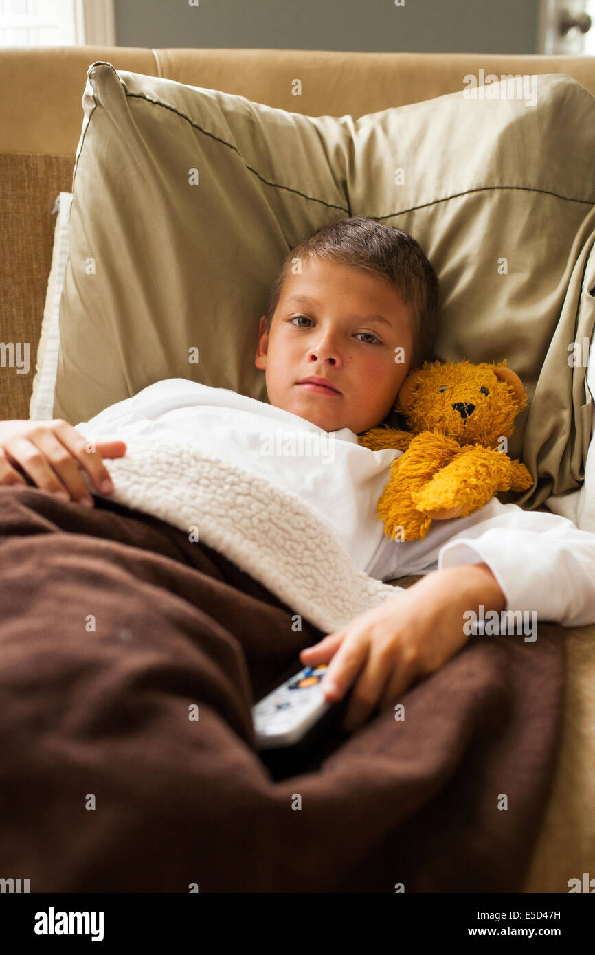 Image result for images of child sick in bed