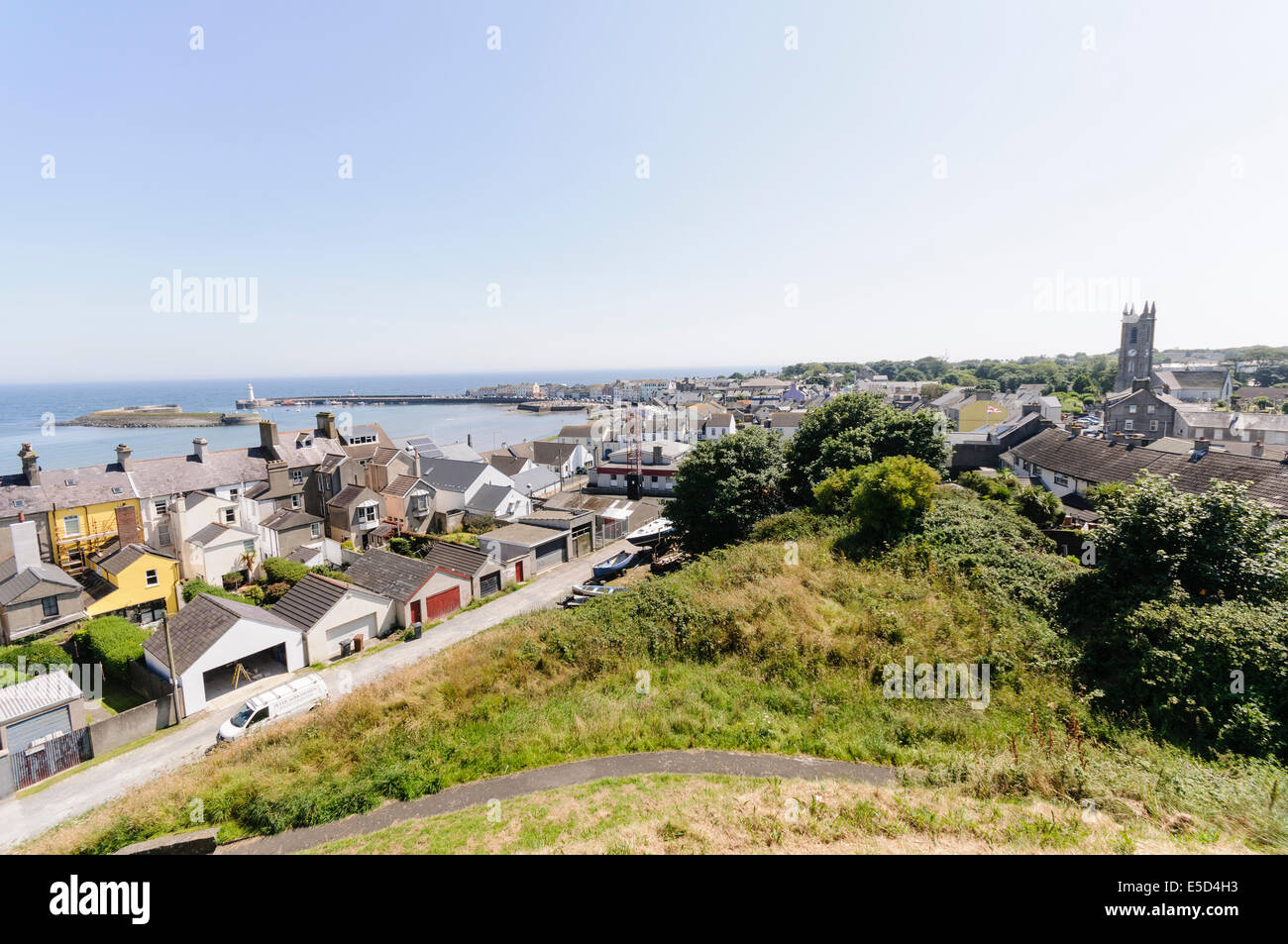 Town of Donaghadee, County Down, Northern Ireland - Stock Image