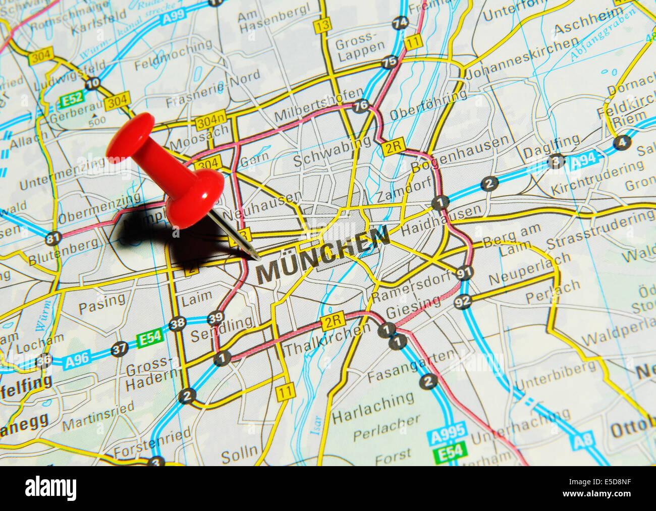 Munich Map map of nys seattle university campus map