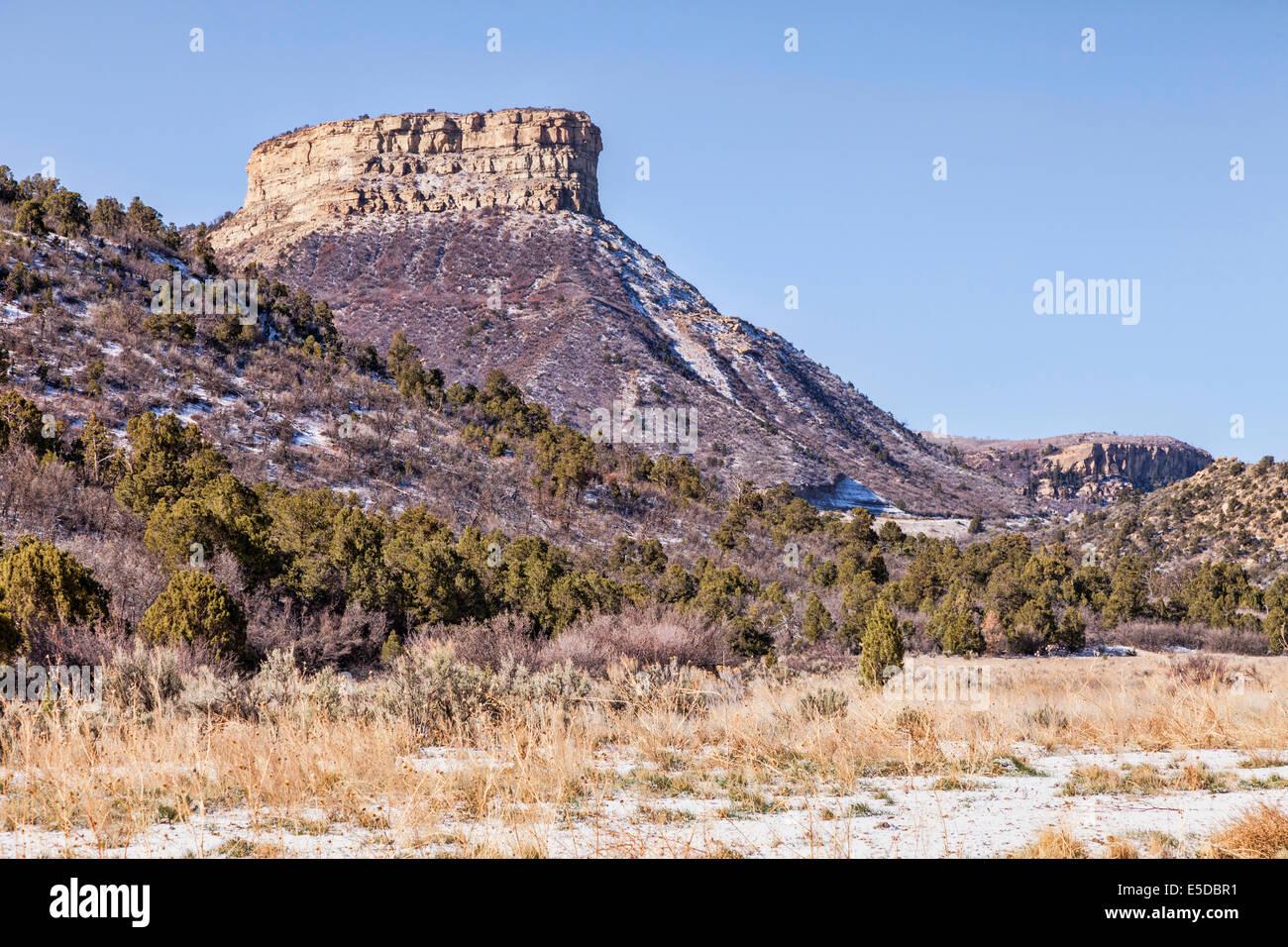 Mesa Verde National Park, Colorado. - Stock Image