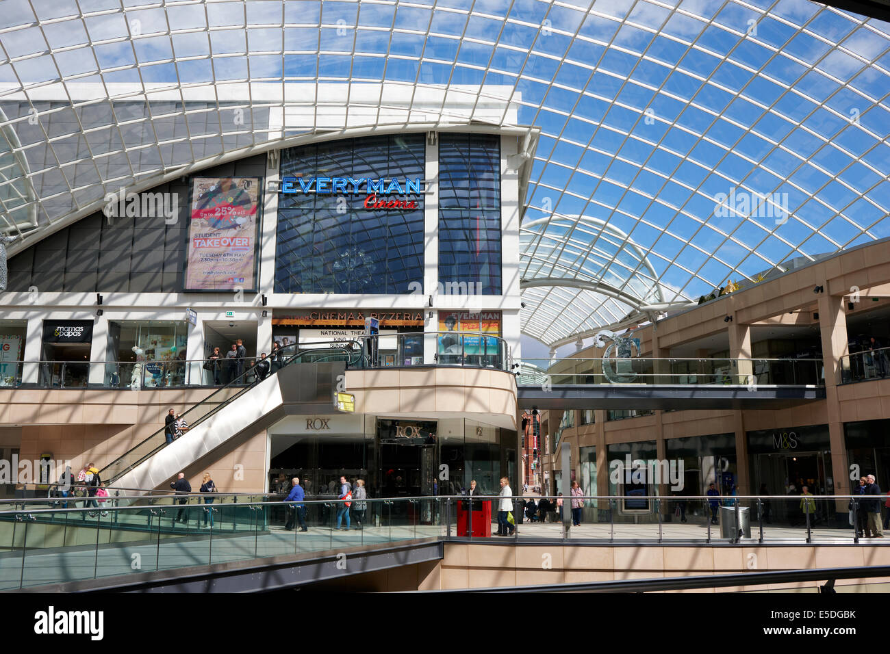 Trinity Leeds, shopping and leisure centre. West Yorkshire UK - Stock Image