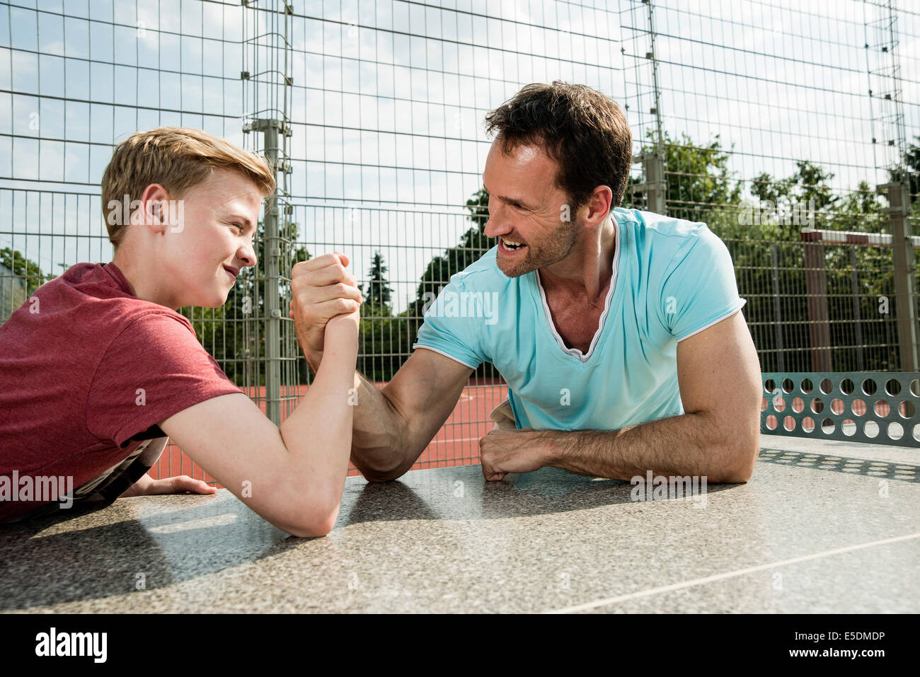 arm wrestling with my father by brad mannings essay - comparing brad manning's short story arm wrestling with my father, and itabari njeri's when morpheus held him the relationship between a father and son stems from an unspoken competition in many countries.