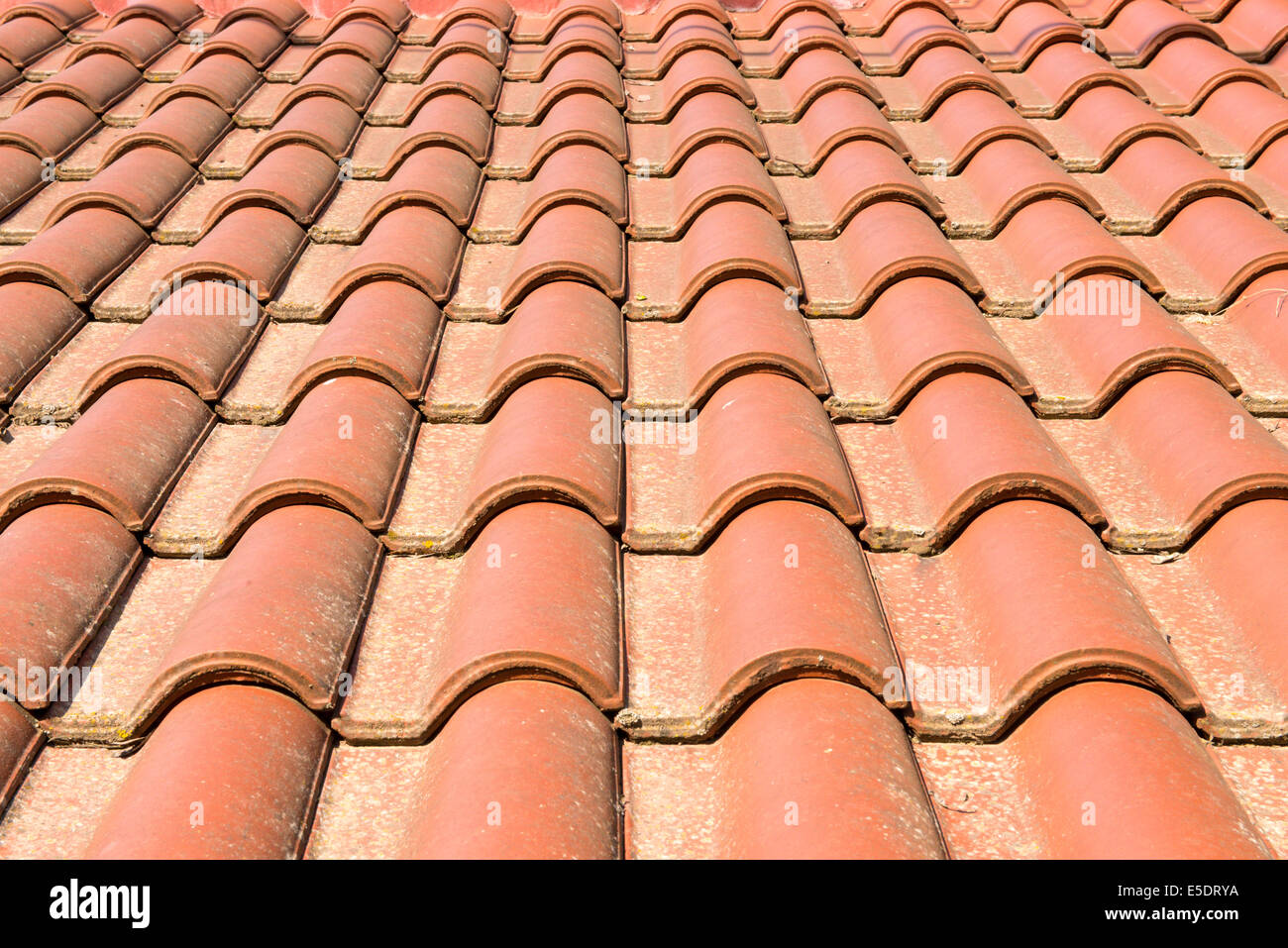 Terracotta roof tiles on the roof of a building stock photo terracotta roof tiles on the roof of a building dailygadgetfo Image collections