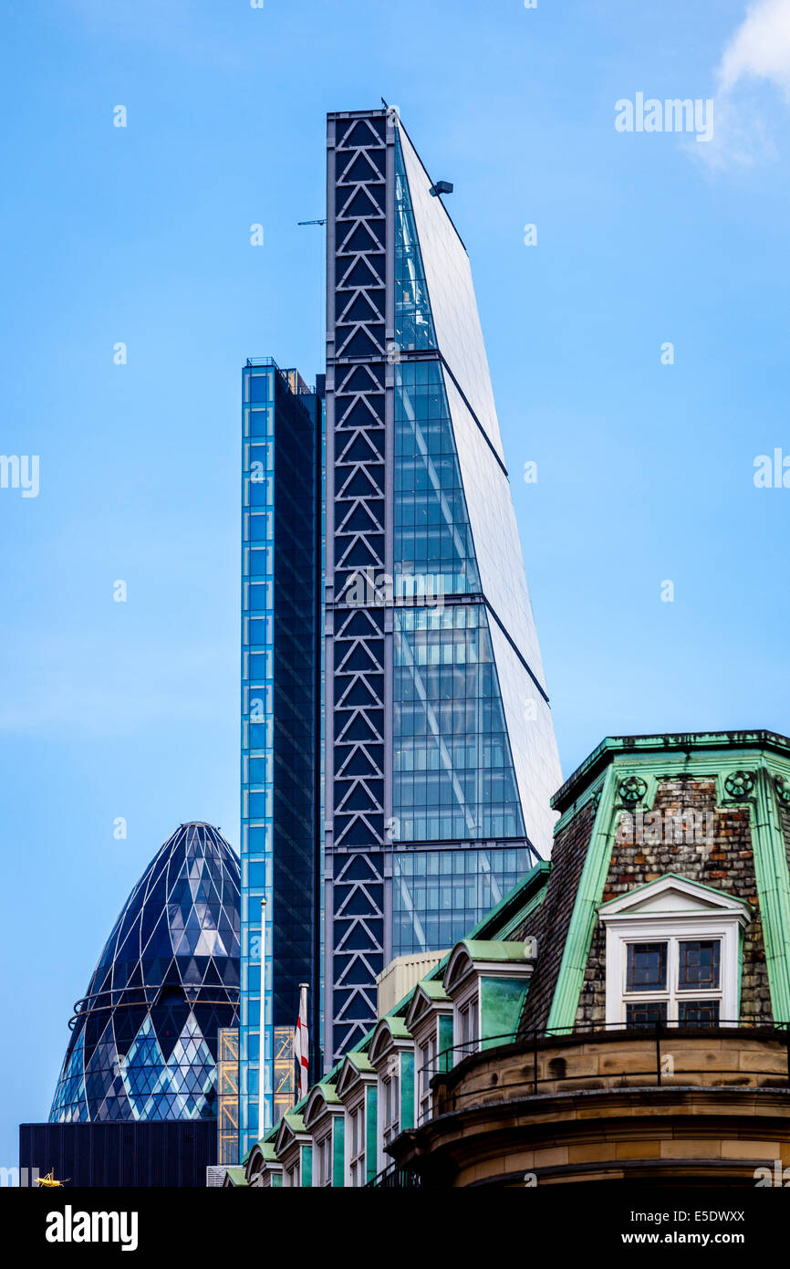 The Leadenhall Building (The Cheesegrater), 122 Leadenhall Street, London, England - Stock Image