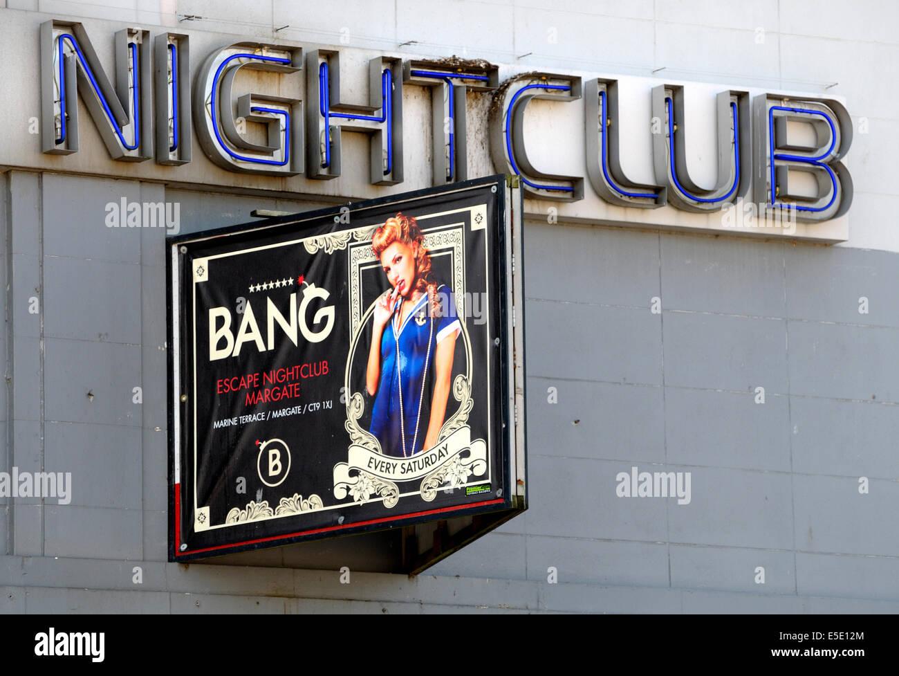 Margate, Kent, England, UK. Escape Nightclub - Stock Image