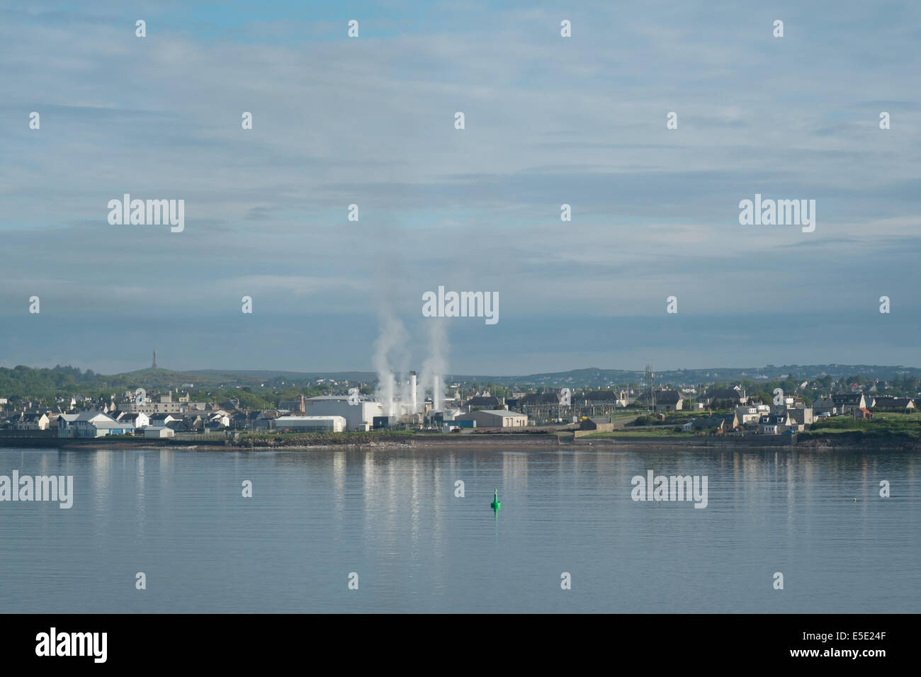 Manufacturing industry Stornoway, Isle of Lewis, Outer Hebrides - Stock Image