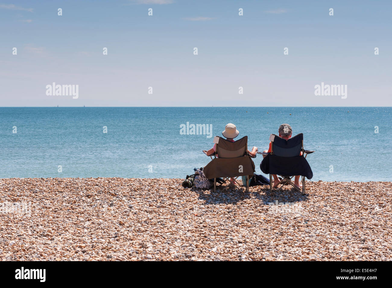 Bognor Regis, West Sussex, UK. 29th July, 2014. With the warm and dry weather continuing on the sunny south coast - Stock Image