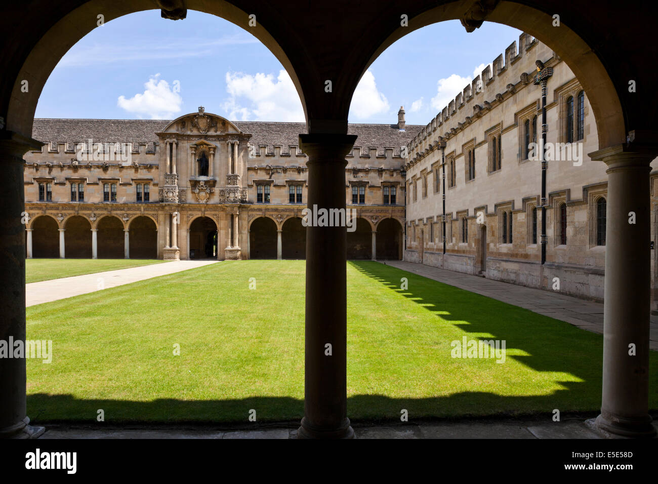 St Johns College at Oxford University, Oxford UK - Stock Image
