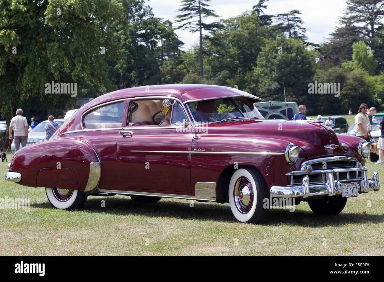 1948 Chevrolet Fleetline Aerosedan Coupe Stock Photo