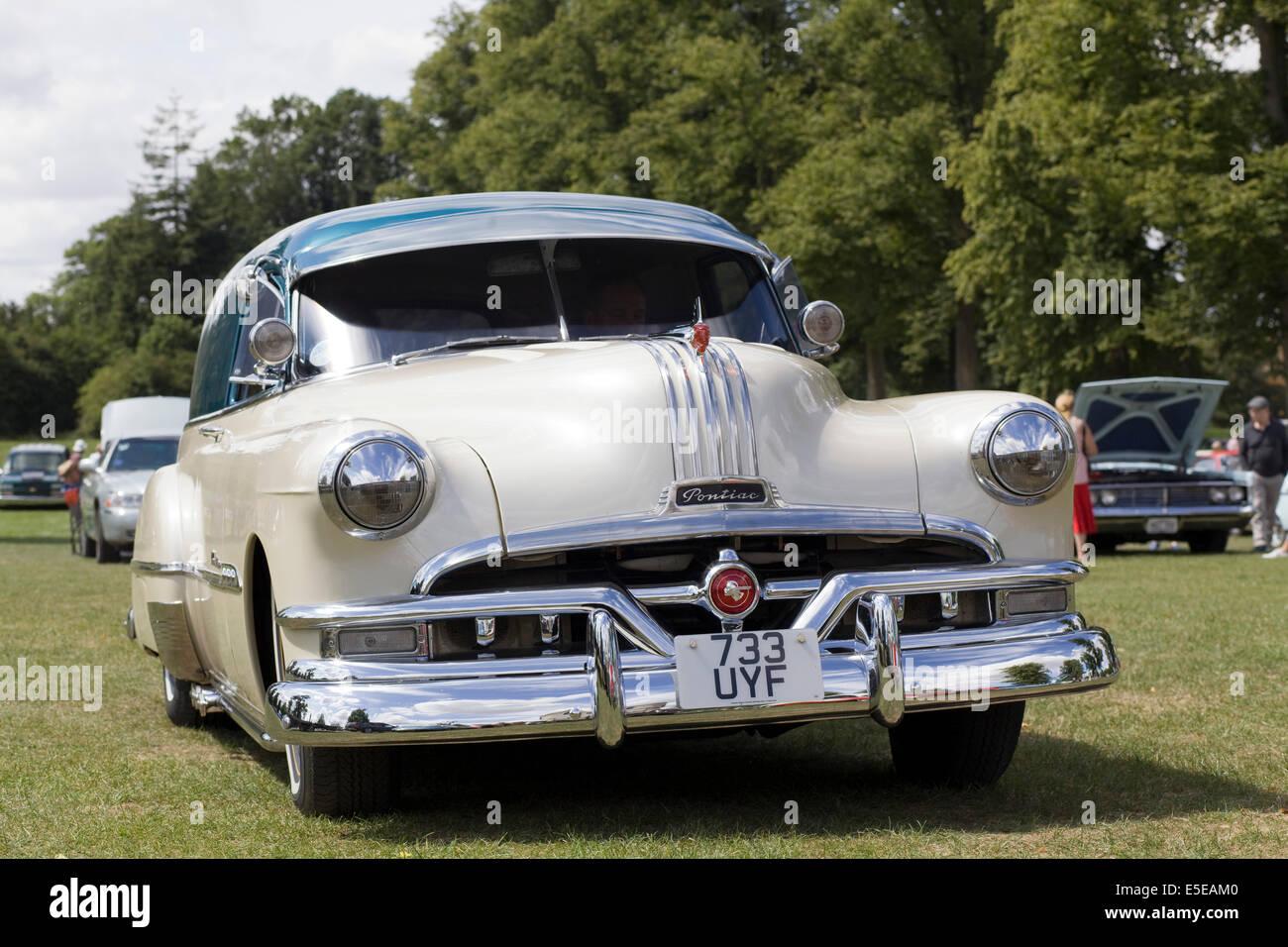 Pontiac Silver Streak Stock Photos 1941 Coupe Convertible With A Hard Top Covering Image