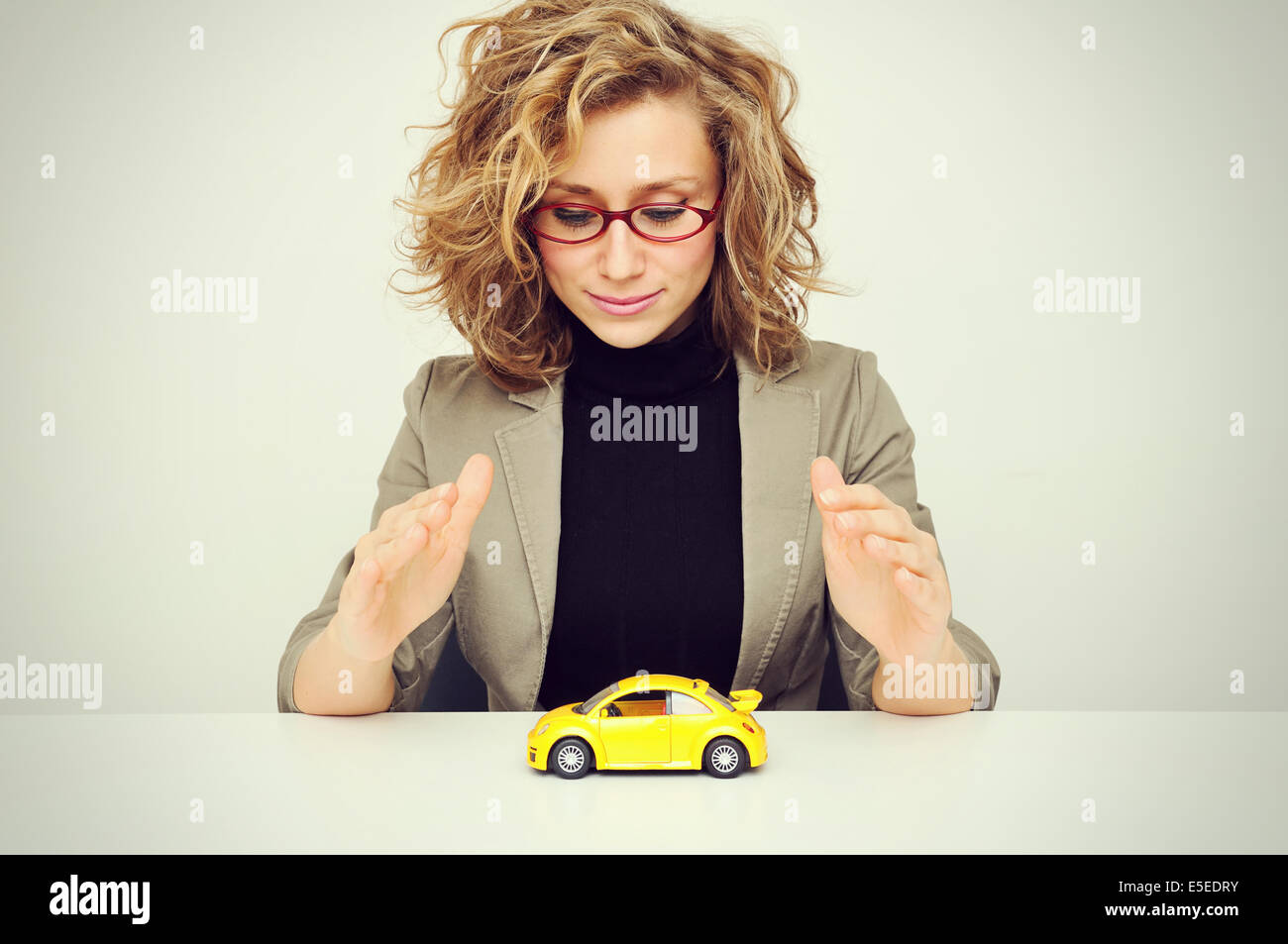 Car Coverage - Stock Image
