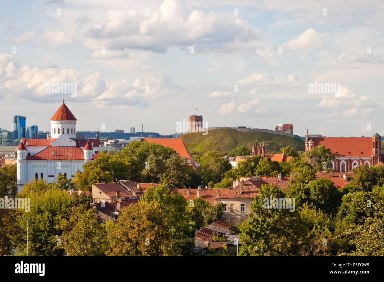 View of Vilnius - Stock Image