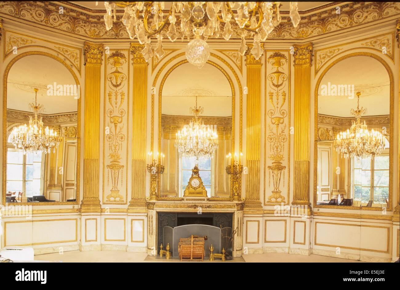 Paris e bureau du ministre stock photos paris e bureau du