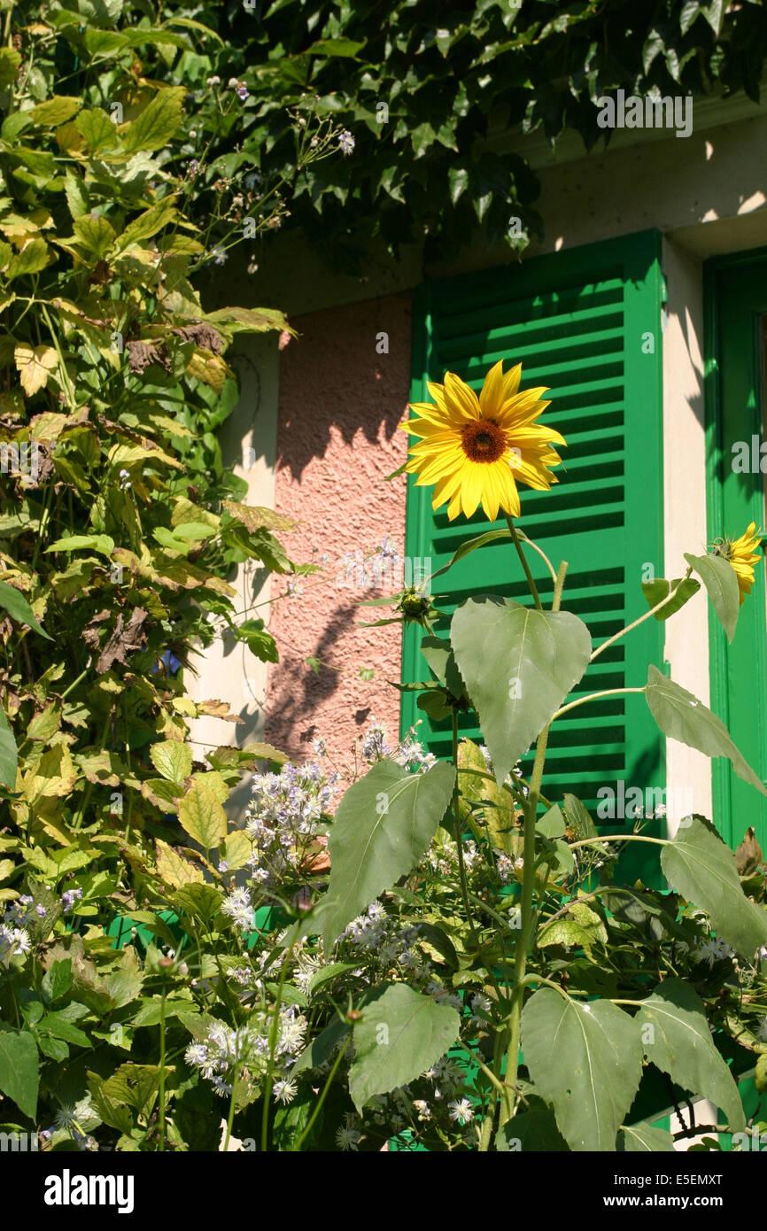 Pin Parasol Distance Maison impressionism france stock photos & impressionism france