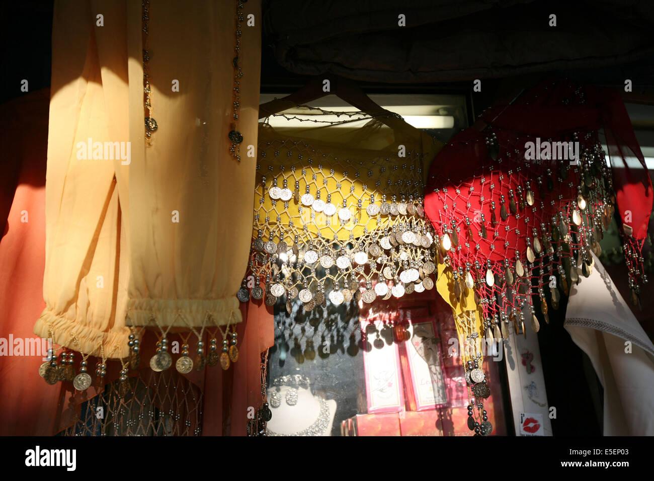 France, paris 18e, barbes, montmartre, boulevard de la Chapelle, magasin, afrique du nord, - Stock Image