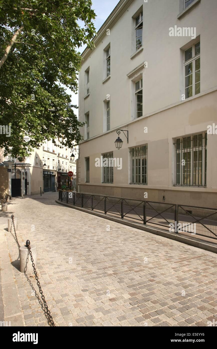 France, Ile de France, paris 13e arrondissement, rue vandrezanne, Stock Photo