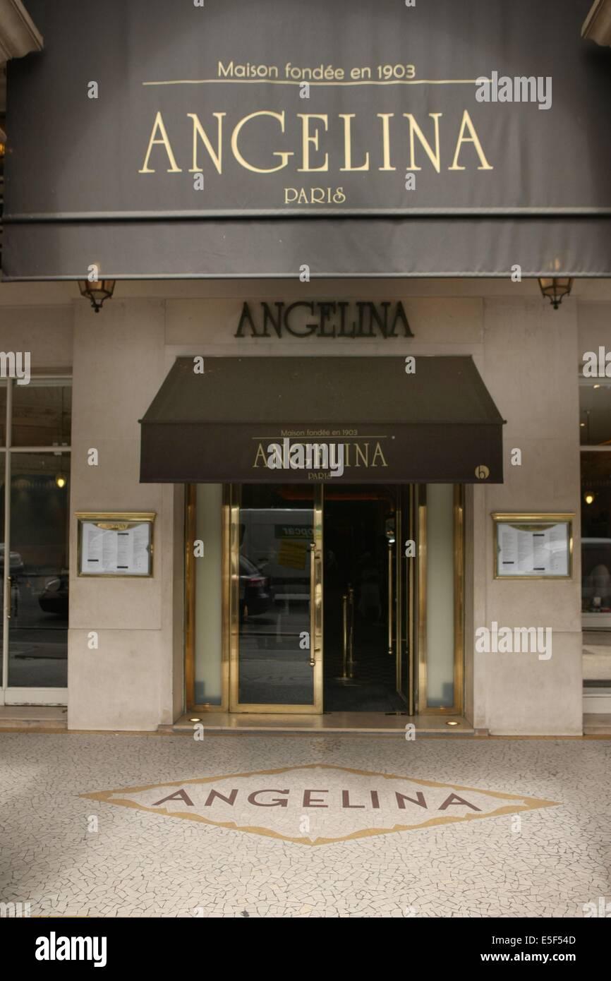 Angelina paris stock photos angelina paris stock images alamy - Salon de the rue de rivoli ...