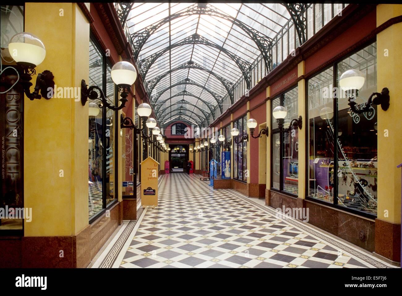 Passage des Princes, Paris - Stock Image