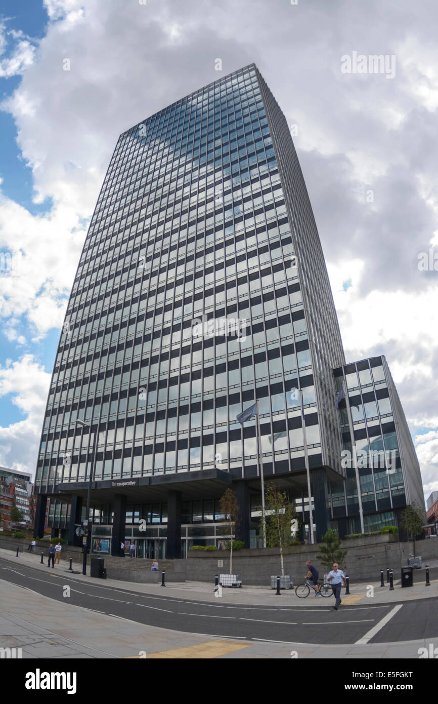 Cooperative Insurance services ( CIS ) building in Miller Street Manchester. Built 1962  and refurbished 40 years - Stock Image