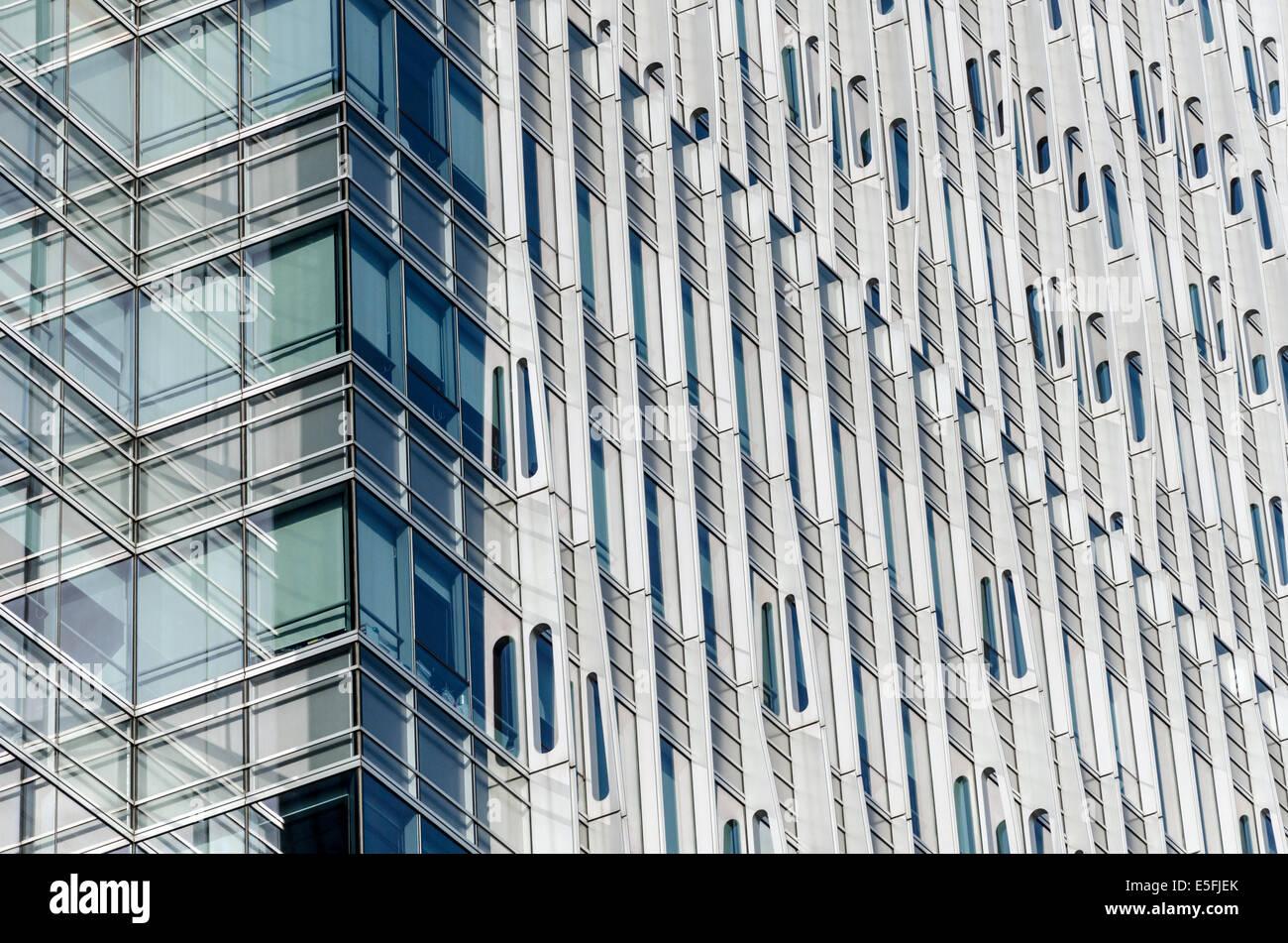 Modern architecture Shanghai, China - Stock Image