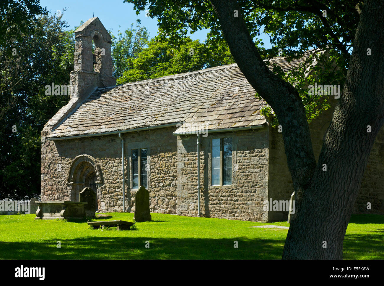 St Helen's Church, Overton, Lancashire, England UK - Stock Image