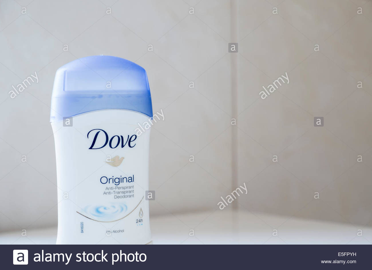 Dove original stick deodorant - Stock Image