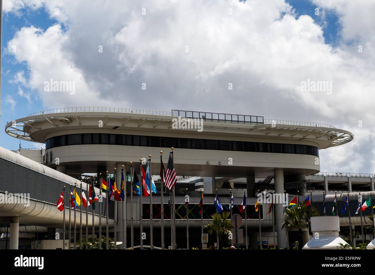 miami airport - Stock Image