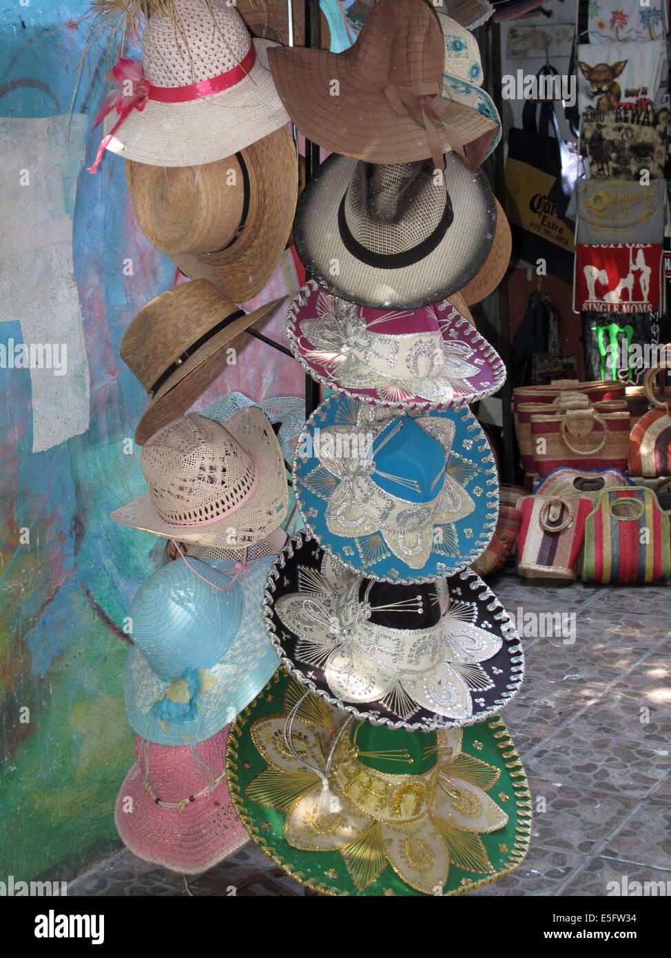 Puerto Vallarta Market, Mexico. - Stock Image