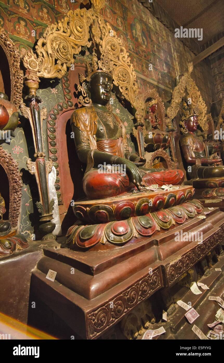 Palcho Monastery in Gyantse Tibet - Stock Image