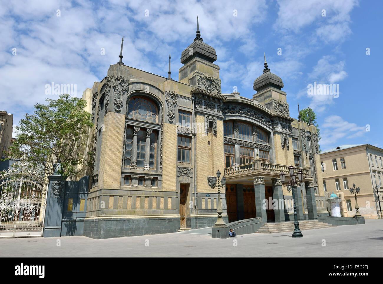 Opera House, Baku, Azerbaijan - Stock Image