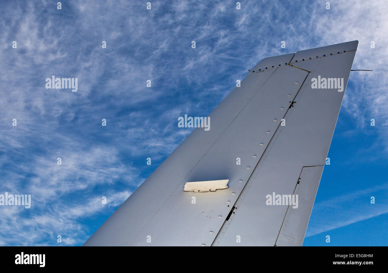 Aircraft Tailplane - Stock Image
