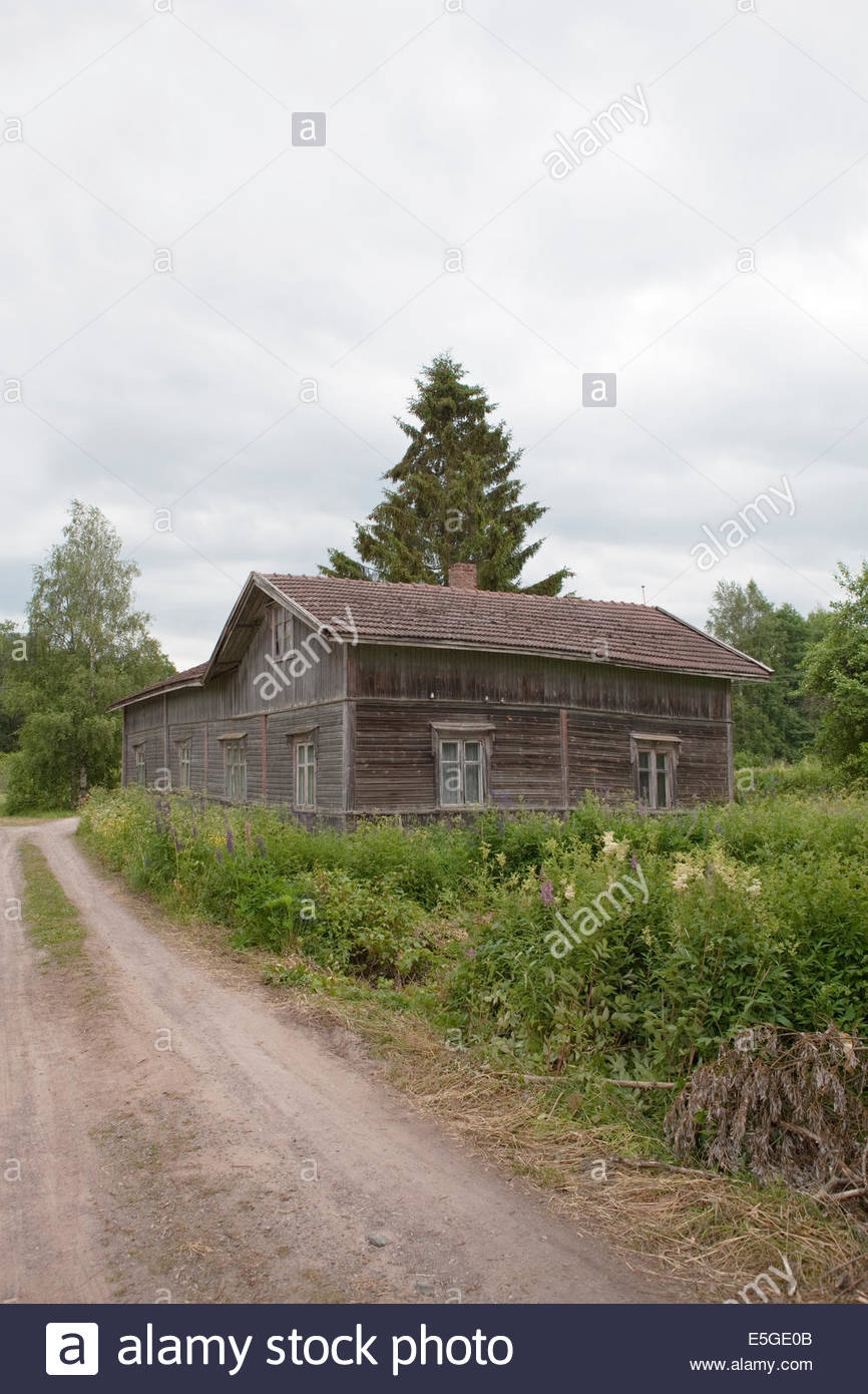 Old house in the countryside - Stock Image