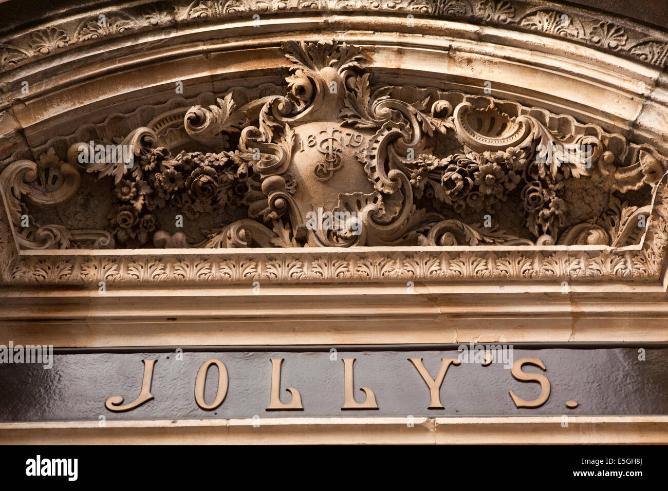 UK, England, Wiltshire, Bath, Milsom Street, Jolly\'s Department ...