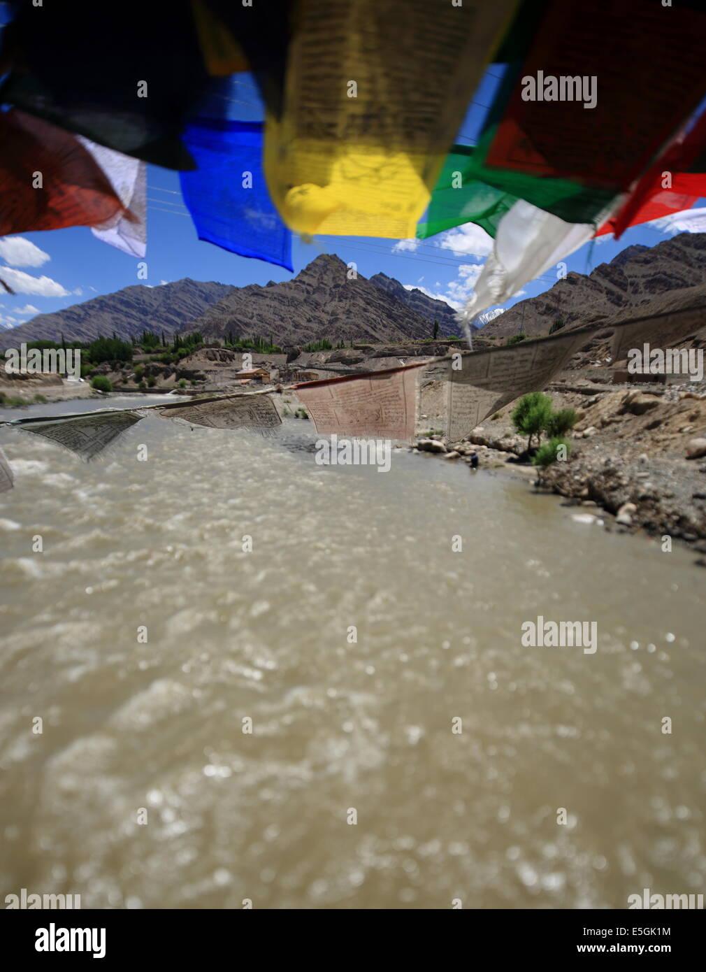 Monasteries of Ladakh - Stock Image
