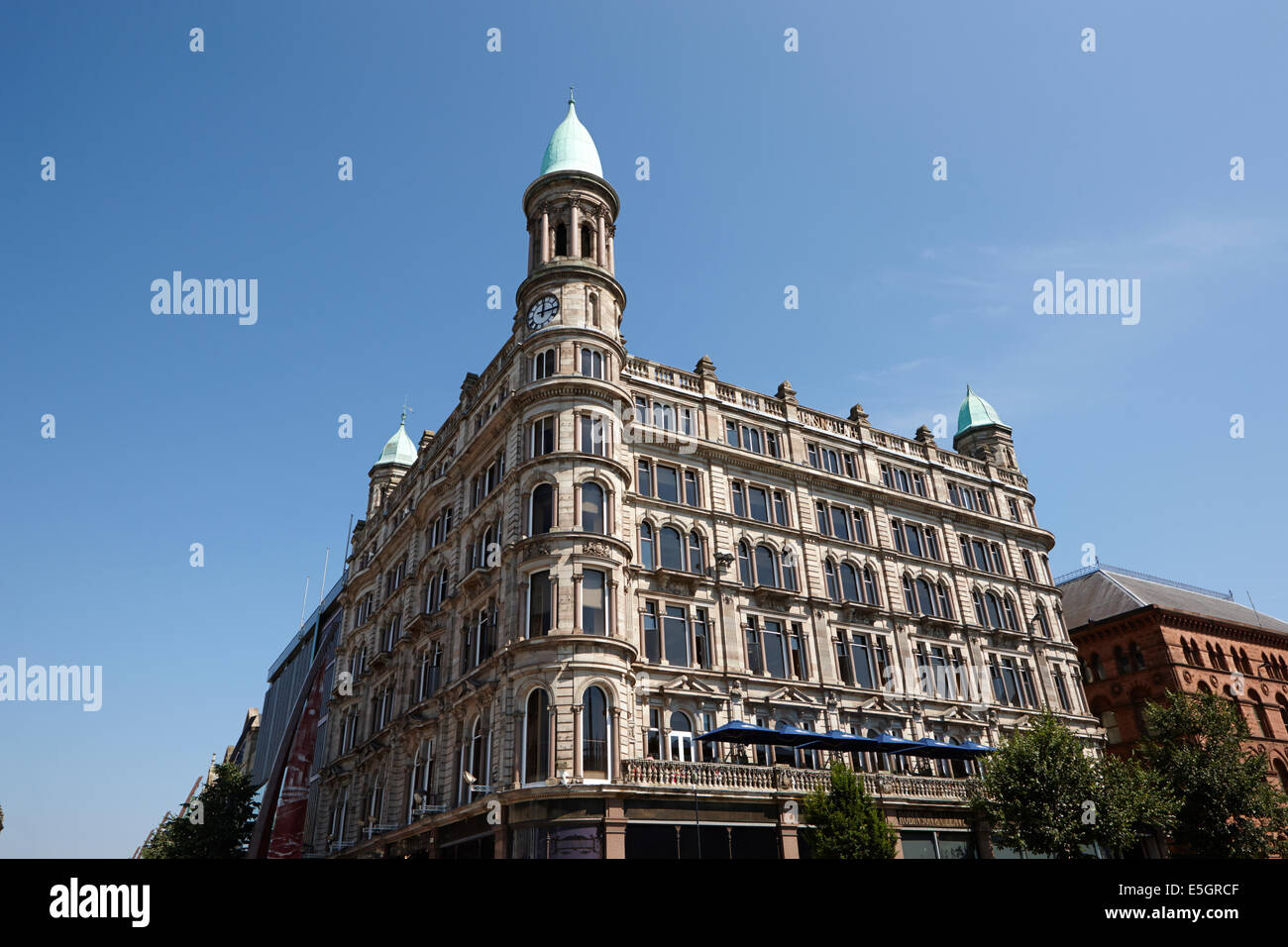 historic former robinsons and cleaver building donegall square north Belfast city centre - Stock Image