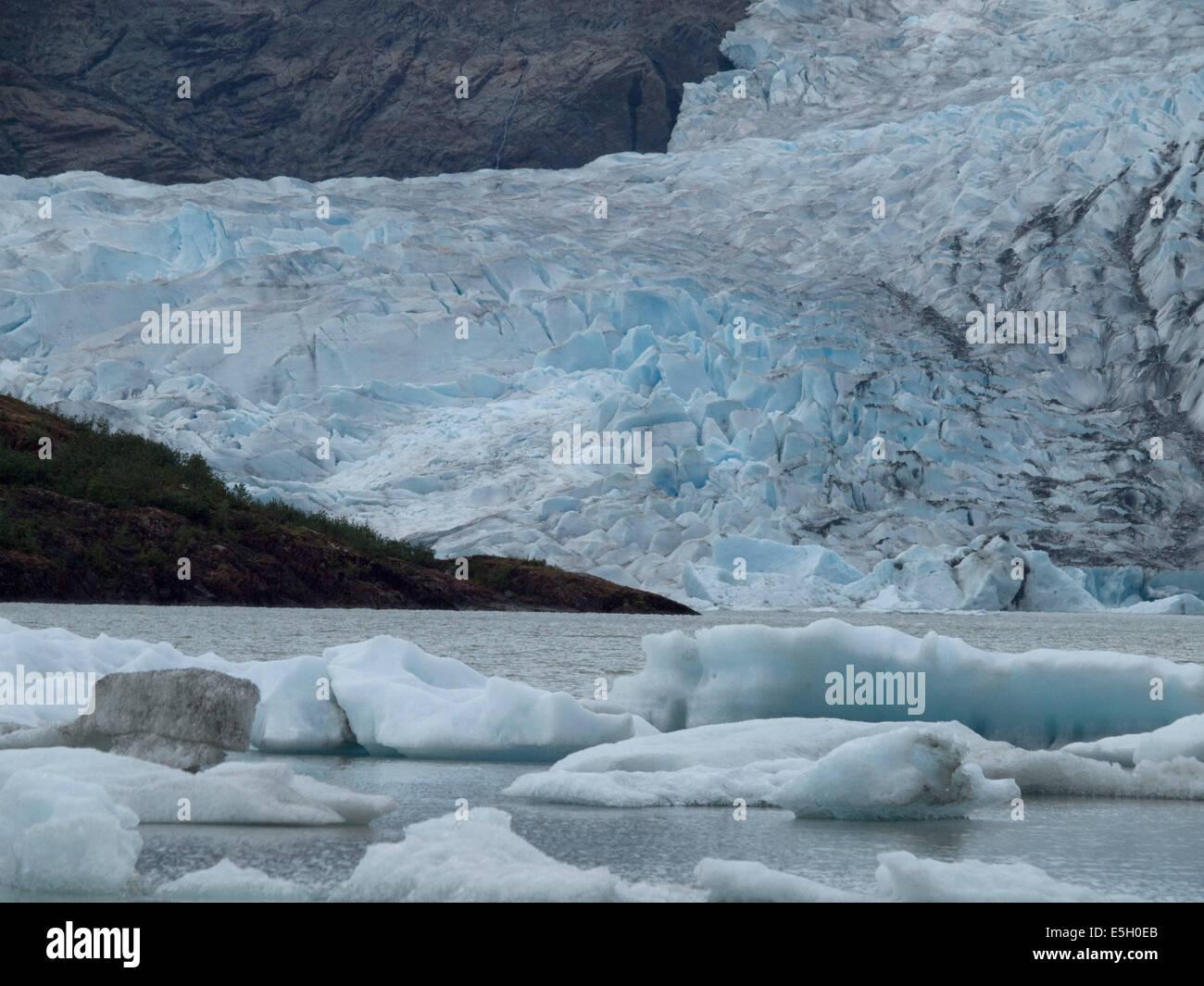 Alaska Glacier - Stock Image