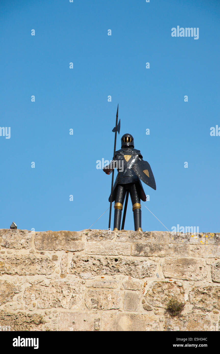 Ippoton, the stret of the knights, old town, Rhodes town, Rhodes island, Dodecanese islands, Greece, Europe - Stock Image