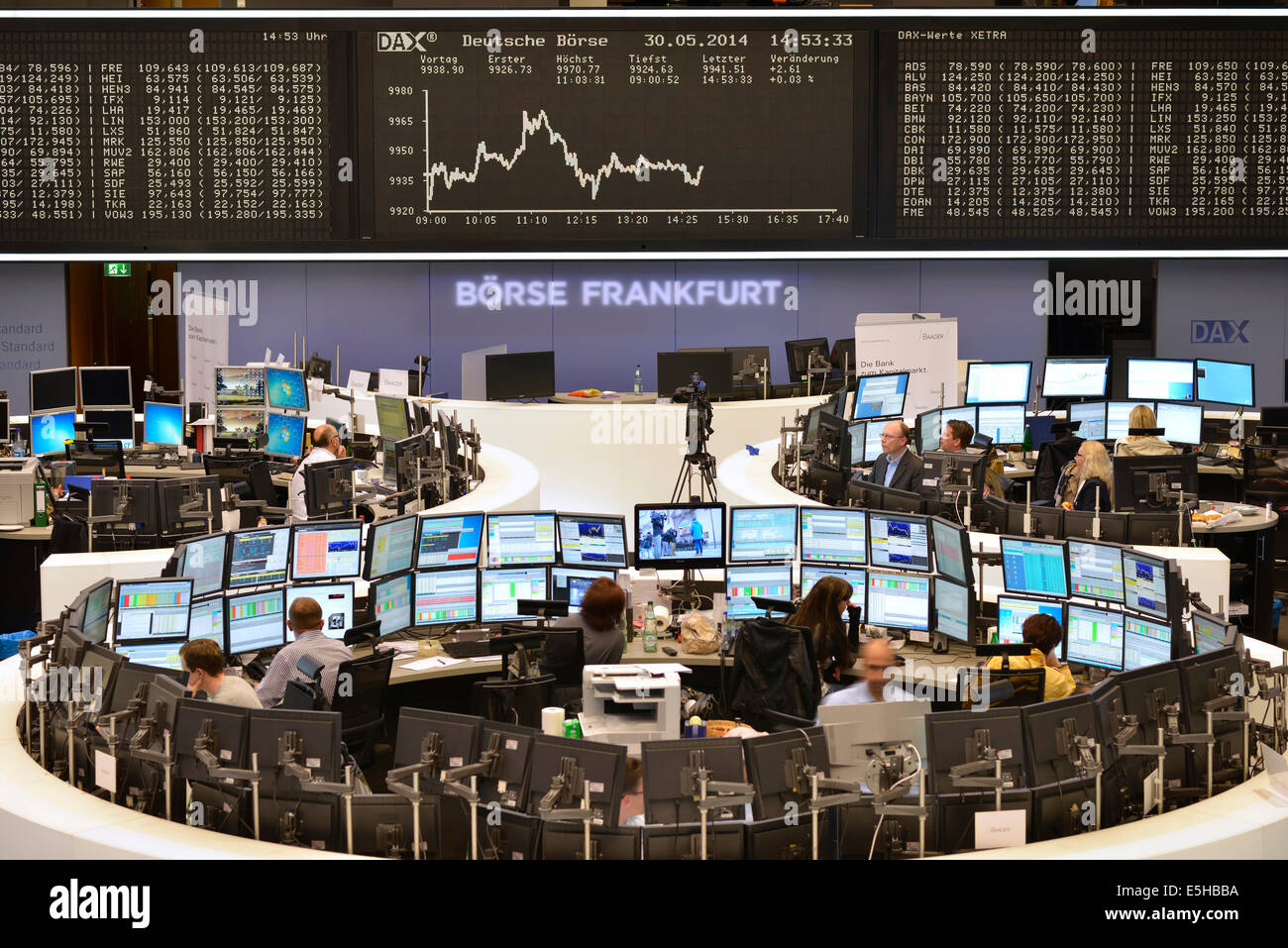 HD free stock footage - stock broker, stock exchange ...