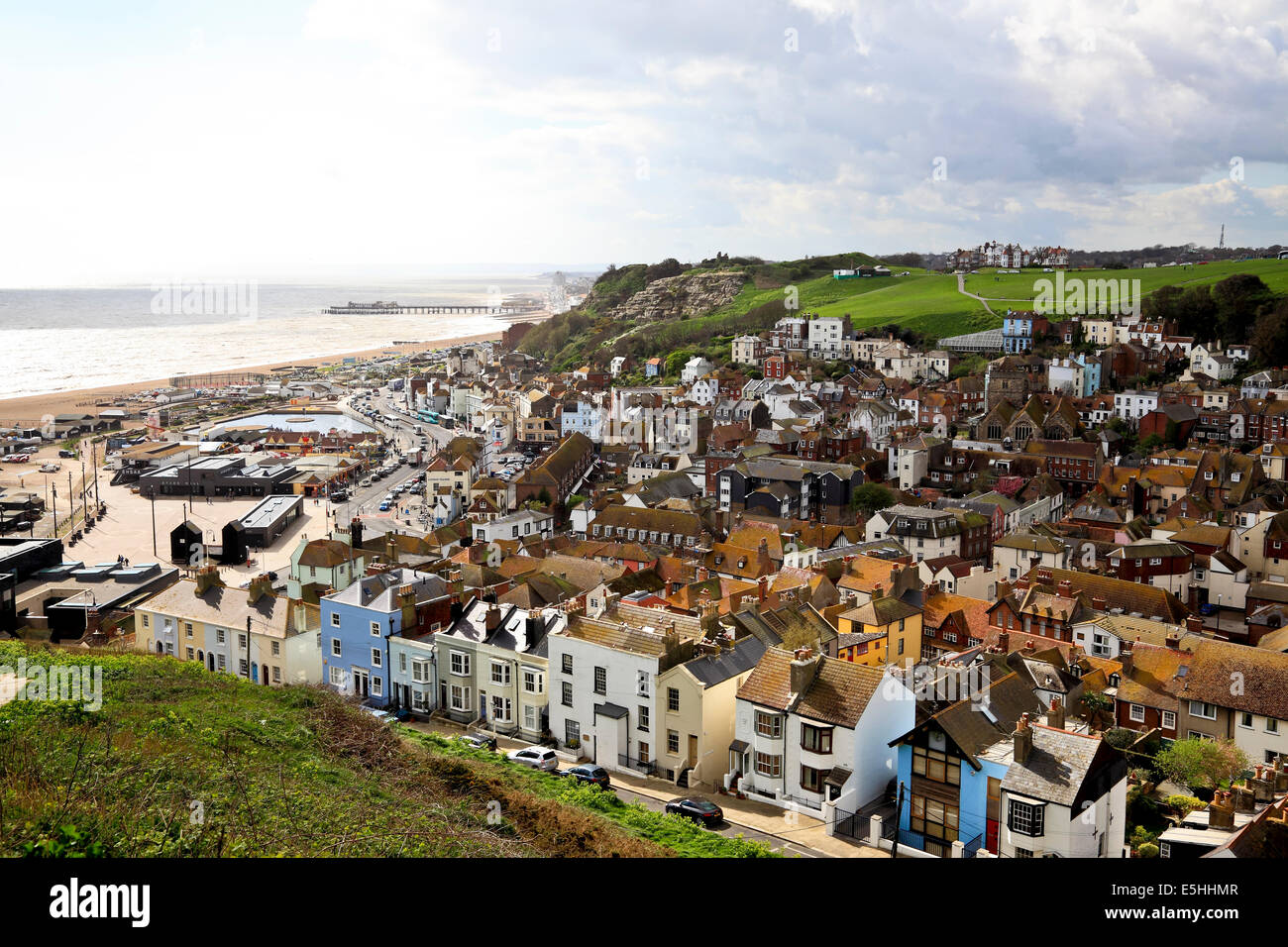 9591. Old Town, Hastings, East Sussex. - Stock Image