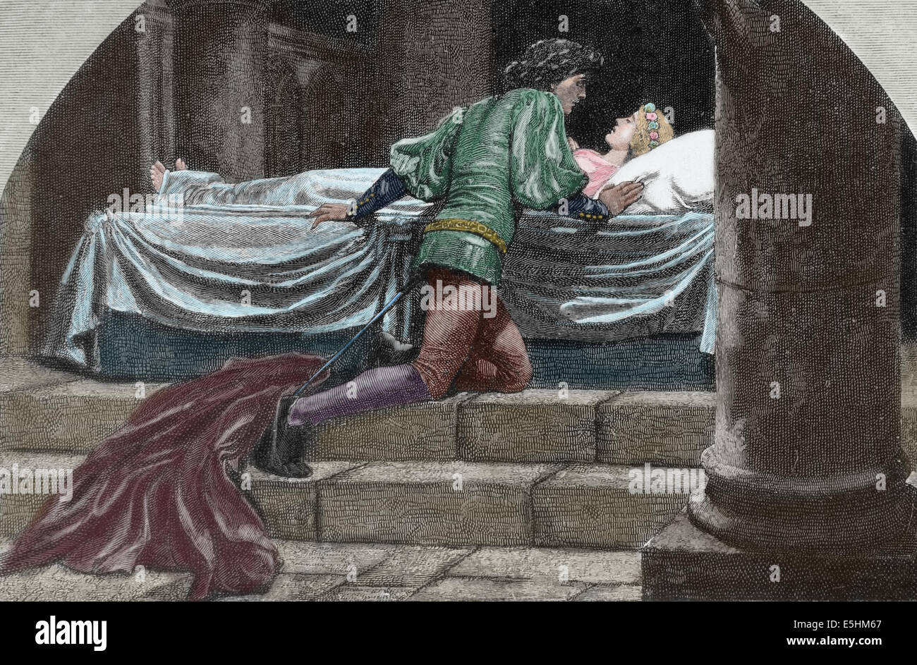 Romeo And Juliet Shakespeare Coloring Pages