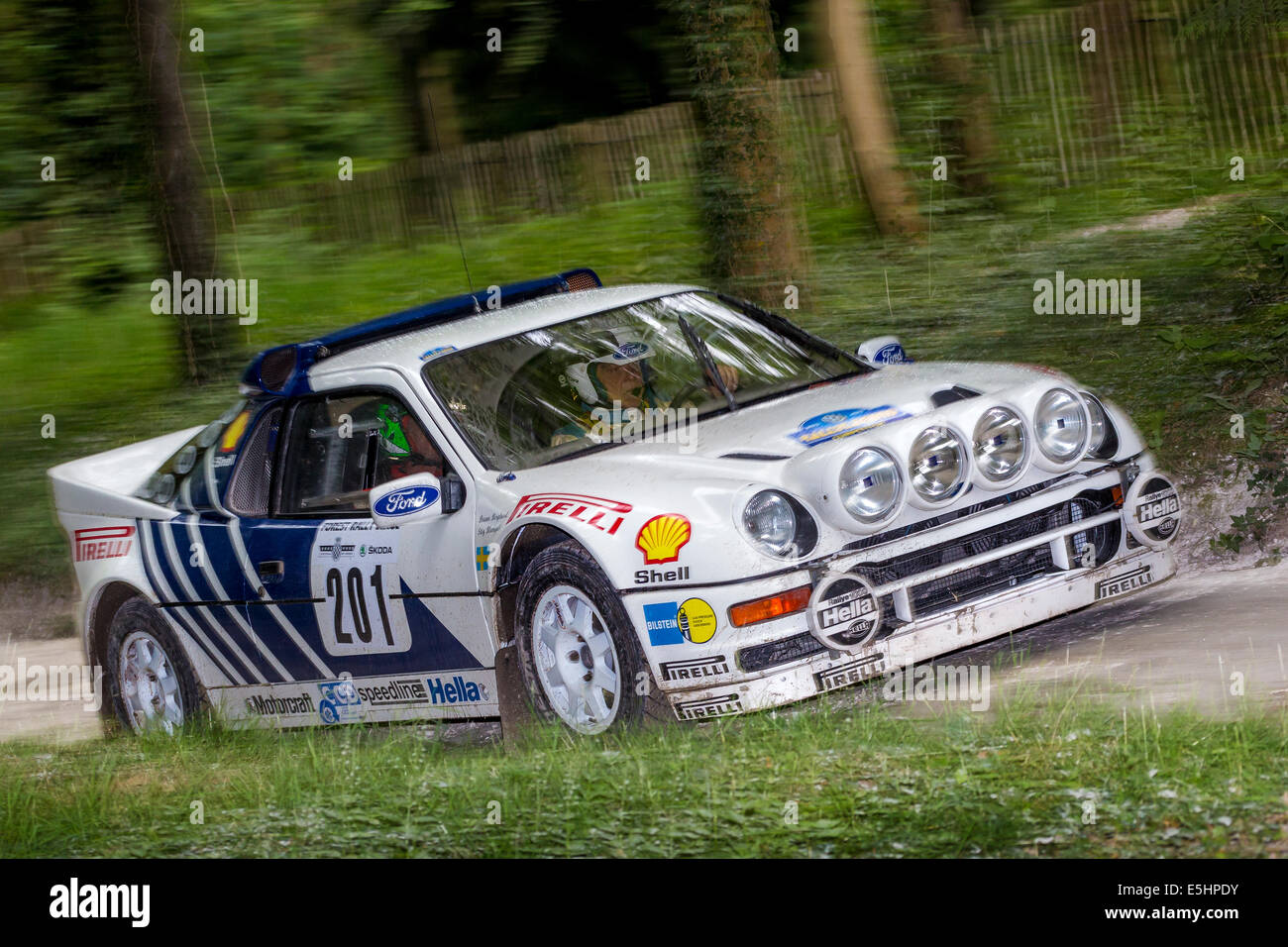 1986 ford rs200 evo group b rally car with driver james avis 2014 stock photo 72305575 alamy. Black Bedroom Furniture Sets. Home Design Ideas